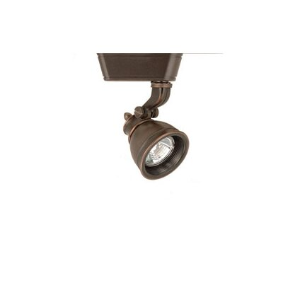 Caribe 1-Light Low Voltage Track Head Track Type: Lightolier Series, Bulb Type: 50W MR16 Halogen Bulb, Lens: Without Lens