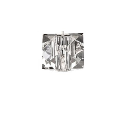 Crystal 4.5 Glass Square Pendant Shade