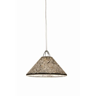 Artisan Micha 1-Light Line Voltage Track Pendant Shade Color: Mirror, Finish: Platinum, Track Type: Flexrail1 Monorail