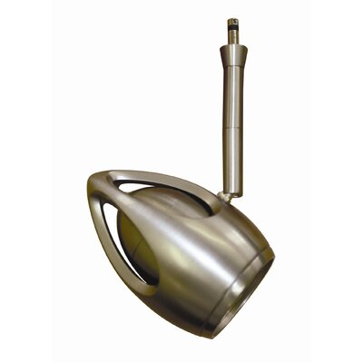 Quick Connect Track Head Size: 6, Finish: Brushed Nickel