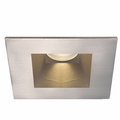 Tesla 3 LED Recessed Trim Finish: Brushed Nickel