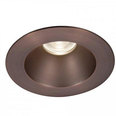 Tesla 3500K Round 3.5 LED Recessed Trim Finish: Semi-Specular Clear/Copper Bronze