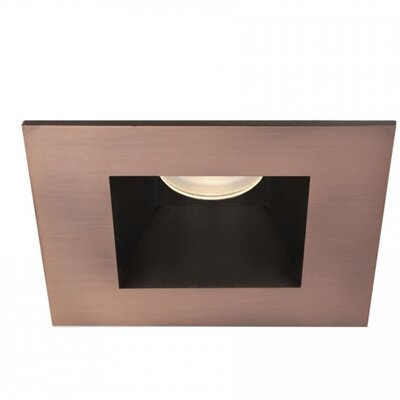 Tesla 50 Degree Angle 3 LED Recessed Trim Finish: Copper Bronze
