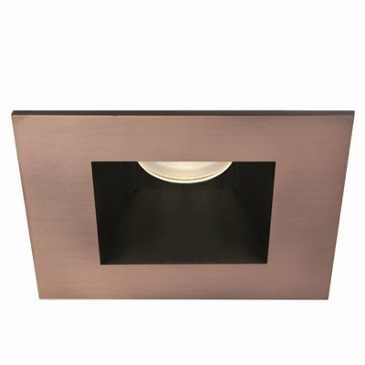 Tesla Square 3 LED Recessed Trim Finish: Copper Bronze