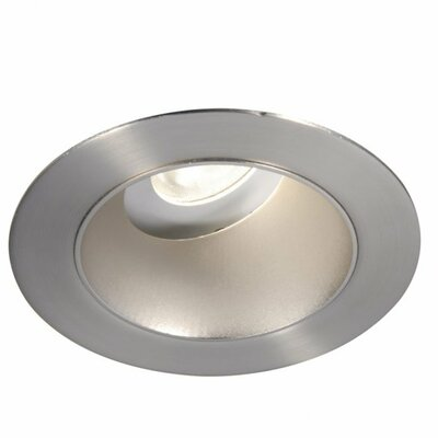 Tesla LED Adjustable 3 LED Recessed Trim Finish: Semi-Specular Clear/Brushed Nickel