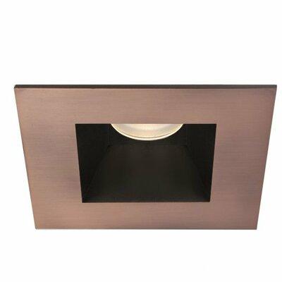 Tesla Square 3 LED Recessed Trim Finish: Copper Bronze