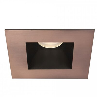 Tesla Square Trim 15 Degree Angle 2.88 LED Recessed Trim Finish: Copper Bronze