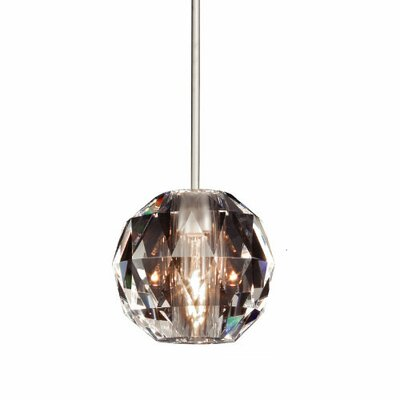 Crystal 4 Glass Sphere Pendant Shade