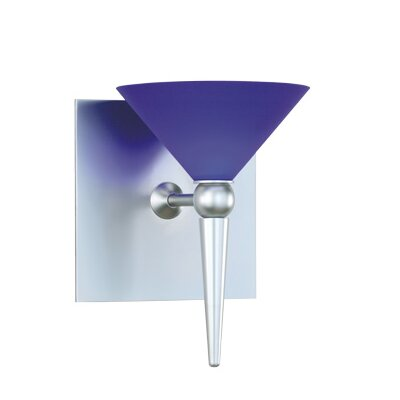 Contemporary 5.25 Glass Empire Wall Sconce Shade