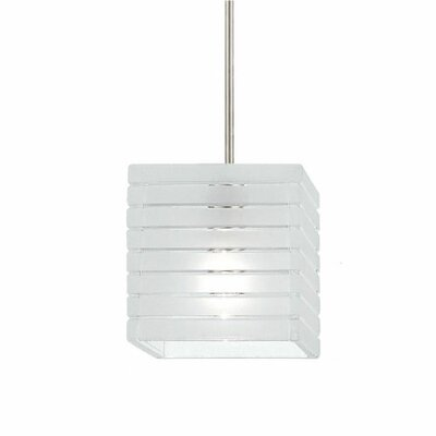 European 4 Glass Square Pendant Shade