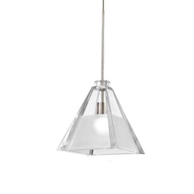 European Tikal Monopoint 1-Light Mini Pendant Finish: Dark Bronze