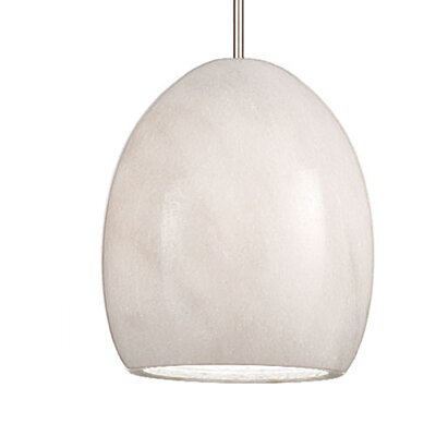 Artisan Alpa Monopoint 1-Light Mini Pendant Shade Finish: Granite, Finish: Chrome