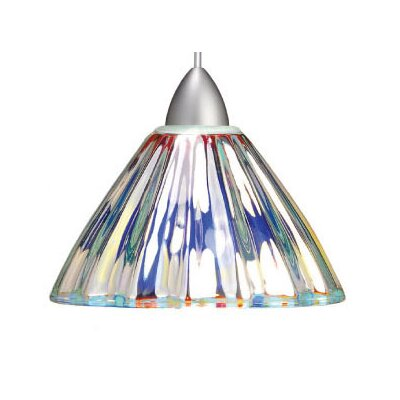 European Eden LEDme 1-Light Mini Pendant Finish: Chrome