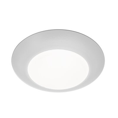 Kari 1-Light Flush Mount Finish: White
