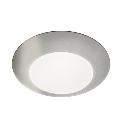 Kari 1-Light Flush Mount Finish: Brushed Nickel