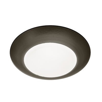 Kari 1-Light Flush Mount Finish: Bronze