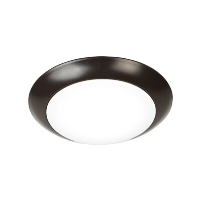 Kari 1 LED Ceiling/Wall Recessed Retrofit Flush Mount Finish: Bronze