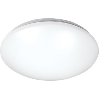 Glo LED White Ceiling/Wall Mount 3500K Size: 1 H x 14.25 W x 4 D