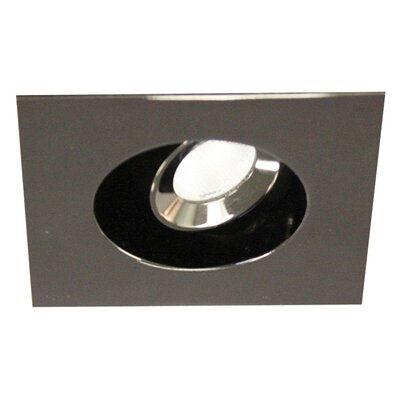 Miniature Adjustable Square 2.75 LED Recessed Lighting Kit