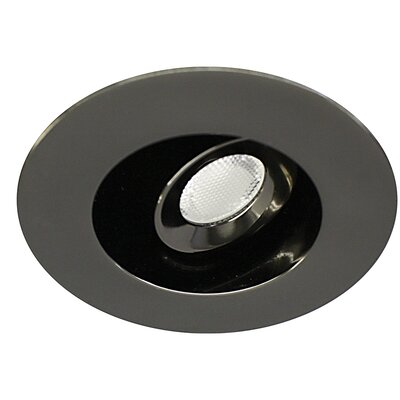 Miniature Adjustable Round 2.75 Recessed Individual Spotlight