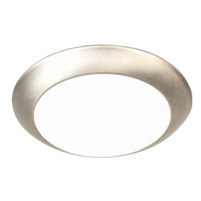 Kari Flush Mount Finish: Brushed Nickel