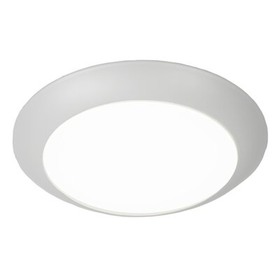 Kari Flush Mount Finish: White