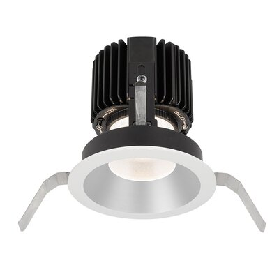 Volta Shallow 5.75 LED Recessed Trim Trim Finish: Haze/White
