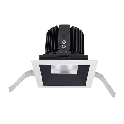 Volta Shallow 5.75 LED Recessed Trim Trim Finish: Black/Haze