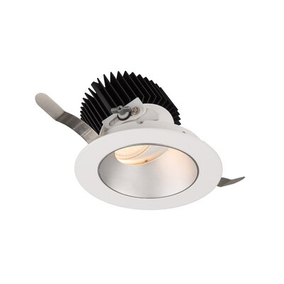 Aether Adjustable 5.13 LED Recessed Lighting Kit Trim Finish: Haze/White