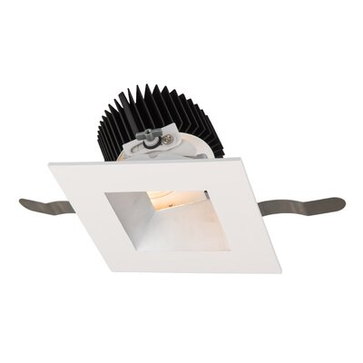 Aether Adjustable 5.13 LED Recessed Trim Trim Finish: Haze/White