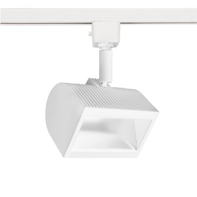 Wall Wash 1-Light ACLED Track Head Finish: White, Track Collection: L Track