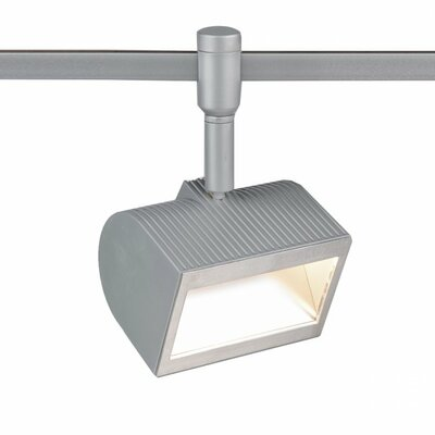 Wall Wash 1-Light ACLED Track Head Finish: Platinum, Track Collection: Flexrail Fixture