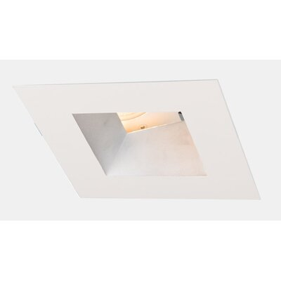 Aether Wall Wash  5.13 LED Recessed Trim Trim Finish: Haze/White
