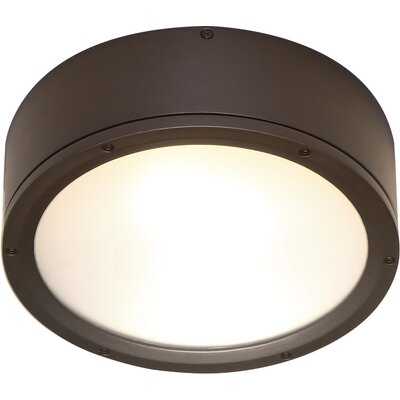 Tube Flush Mount Finish: Bronze
