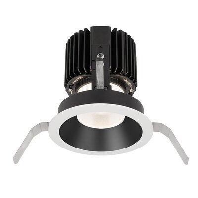 Volta Shallow 5.75 LED Recessed Trim Trim Finish: Black/White