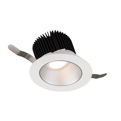 Aether Wall Wash 5.13 LED Recessed Lighting Kit Trim Finish: Haze/White