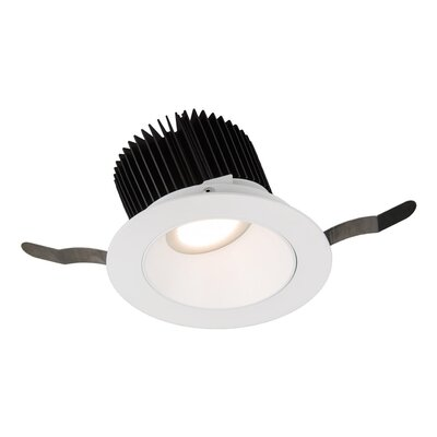Aether Wall Wash 5.13 LED Recessed Trim Trim Finish: White