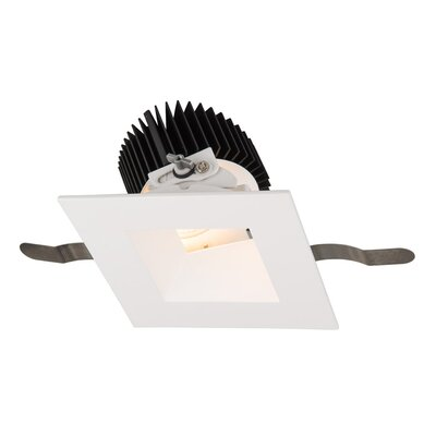 Aether Adjustable 5.13 LED Recessed Lighting Kit Trim Finish: White