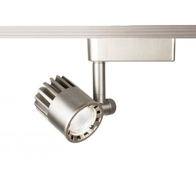 LEDme 1-Light 3500K LED Track Head Finish: Brushed Nickel