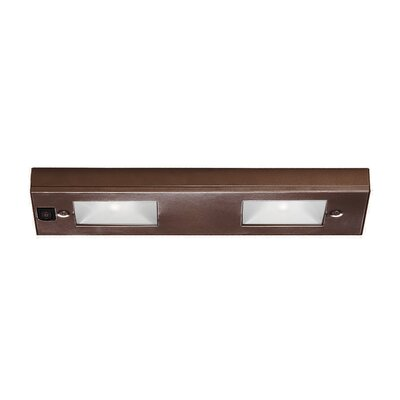 Xenon 12 Under Cabinet Bar Light Finish: Bronze