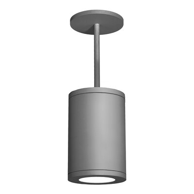 Tube 1-Light Mini Pendant Finish: Graphite, Size: 33.27 H x 8 W x 11.81 D, Lens Degree: Flood
