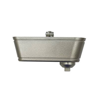 50W 120V Electronic Transformer Track Type: Halo Series, Finish: Brushed Nickel