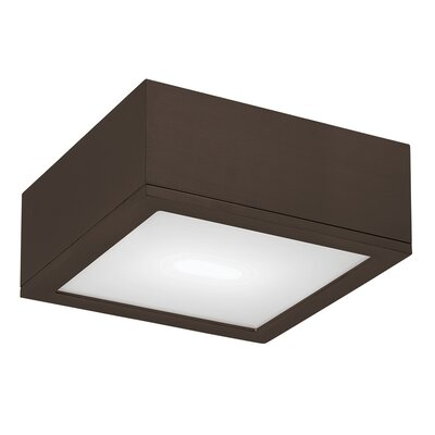Myrtle Flush Mount Finish: Bronze, Size: Large