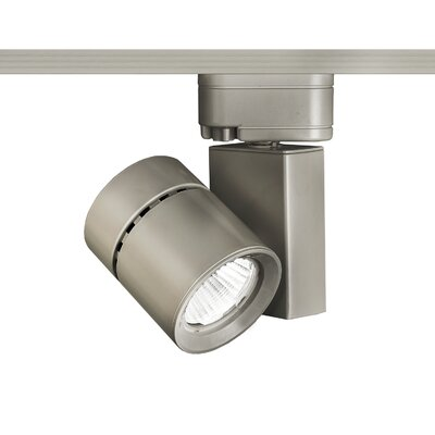 Exterminator II 1-Light 3000K Flood Beam Track Head Finish: Brushed Nickel