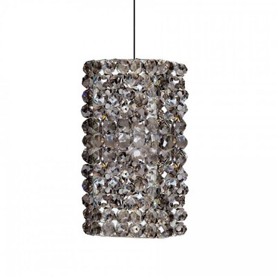 3 Glass Drum Pendant Shade Shade Color: Champagne Diamond