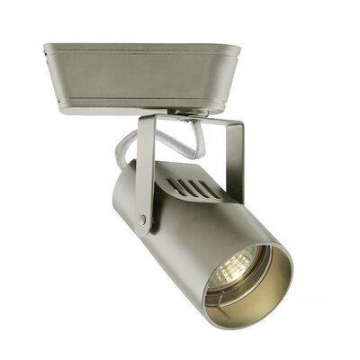 1-Light Spot Low Voltage Track Head Track Type: Lightolier Series, Bulb Type: 75W MR16 Halogen, Finish: Brushed Nickel