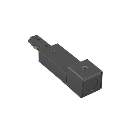 Wire End Connector for BX Cable Track Type: Halo Series, Finish: Black