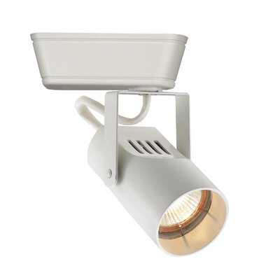 1-Light Spot Low Voltage Track Head Track Type: Lightolier Series, Bulb Type: 50W MR16 Halogen, Finish: White