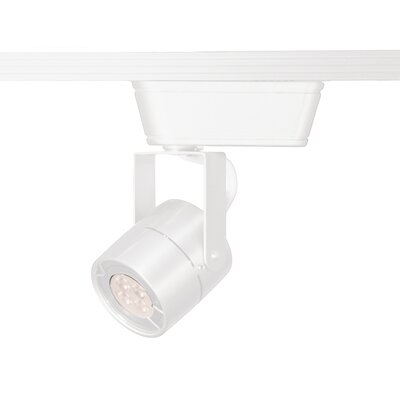 1-Light 3000K 80 CRI LED Low Track Head Finish: White, Track Collection: Halo Series