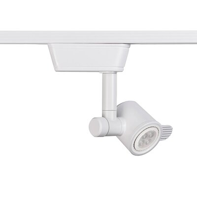 8W H Series LED Low Voltage Track Head Finish: White